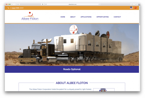 Albee Floton front page